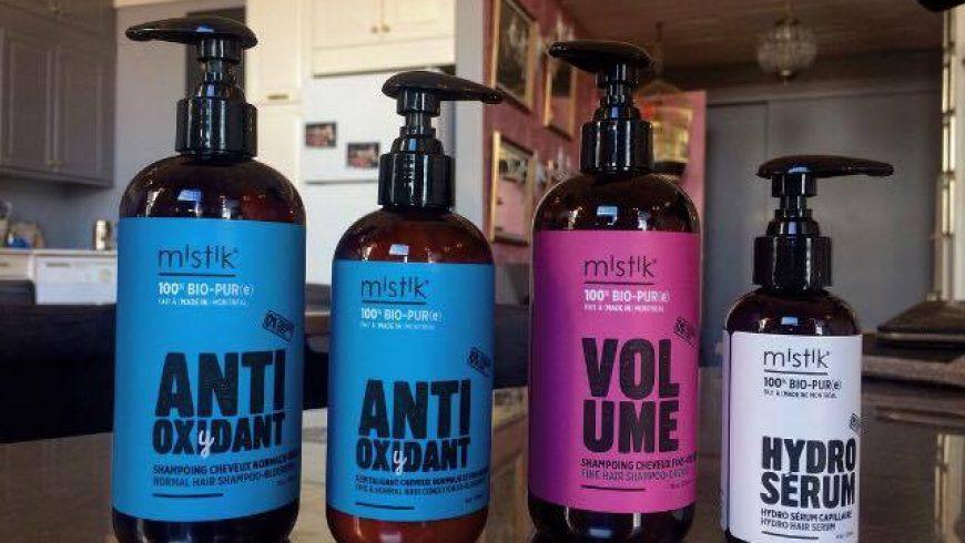 Séance capillaire avec la gamme de produits Mistik